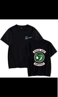 BNIP Riverdale Southside Serpants Shirt In Black