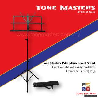 Tone Masters P-02 Music Sheet Stand