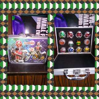 Kamen rider set of rings
