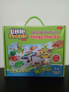 FisherPrice Little People Learning Floor Puzzle