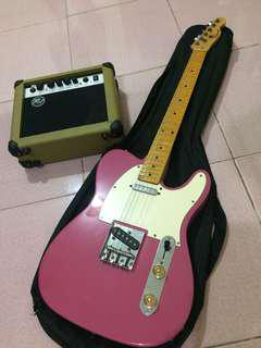 Custom Telecaster Japan W/ amplifier