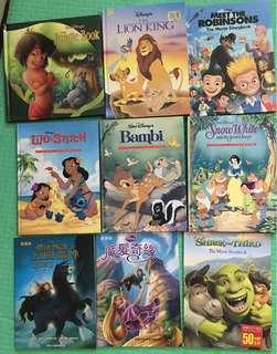 Disney A4 story books