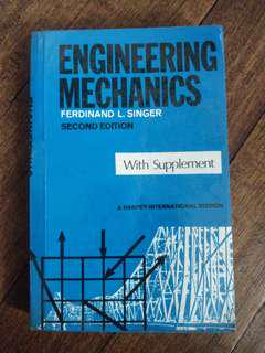 [ECE] Engineering Mechanics (Second Edition) by Singer