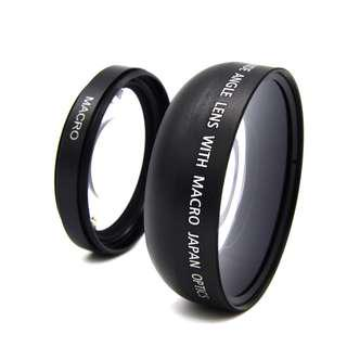 49mm 0.45x Wide Angle Camera Lens With Macro Lens For Sony