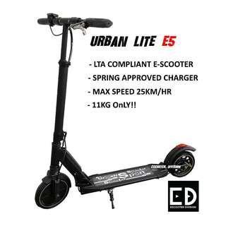 Electric Scooter (Urban Lite E5 Escooter)
