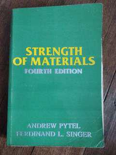[ECE] Strength of Materials (Fourth Edition) by Pytel and Singer