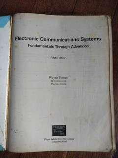 [ECE] Electronic Communications Systems (Fifth Edition) by Tomasi