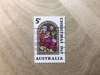 澳洲已銷郵票1969年聖誕節