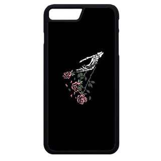 🚚 Skeleton Floral Tumblr Phone Cover