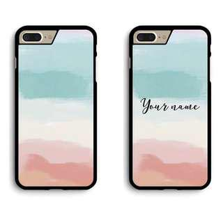 🚚 Pastel Paint Stroke Phone Cover