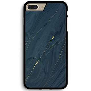 🚚 Navy Gold Marble Phone Cover
