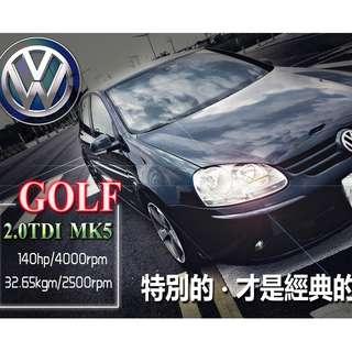 2007年 VW福斯-GOLF MK5 2.0TDI