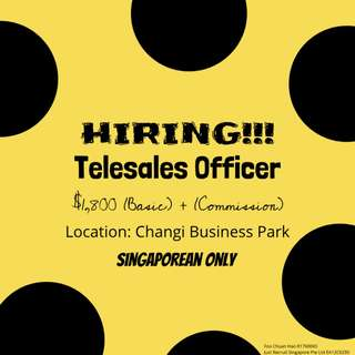 Telesales Officer - 6 months contract (Banking Industry)
