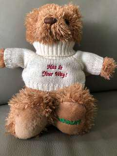 Sasha's bear collectable