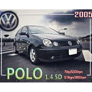 2005年 VW福斯-POLO 1.4 5D