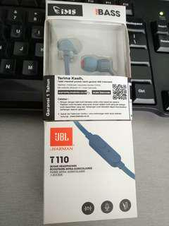 Headset JBL T110 Ori Garansi IMS 1 Tahun