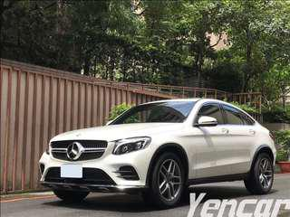 FB搜尋【阿彥嚴選認證車-Yencar】2017 GLC250 僅跑1萬、中古車、二手車、全額貸、車換車