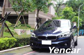 FB搜尋【阿彥嚴選認證車-Yencar】2014年218i 藍色、中古車、二手車、全額貸、車換車