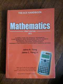 [ECE] Excel Review Center Mathematics (First Edition) by Tiong and Tiong