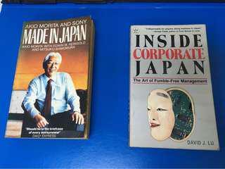 Made in Japan & Inside Corporate Japan