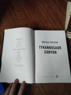 Tyrannosaur Canyon by Douglas Preston (Hardbound)