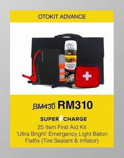 Powerbank Supercharge Emergency Kit