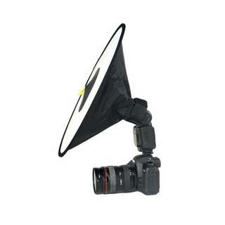 45cm Collapsible Flash Diffuser for Speedlite