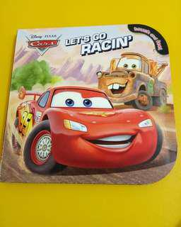 Cars disney book touch and feel