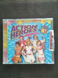 Hi 5 Action Heroes DVD