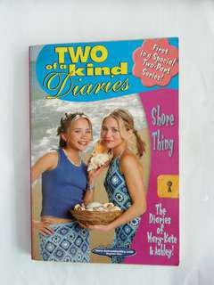 Two of a kind diaries first in a special two-part series children book. The diaries of Mary-Kate & Ashley. Based on the TV series.