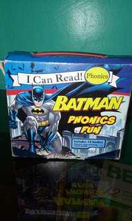 I Can Read! BATMAN Phonics Fun