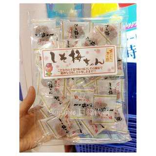售完 日本食品  無籽干し梅 無籽 梅干 梅子 梅子乾160g