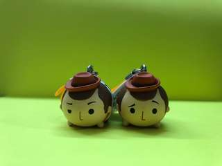 Tsum Tsum 胡迪街機專用扭蛋(每隻$35)