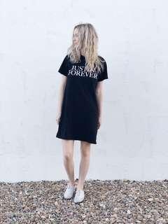 🚚 Free BNWT H&M Justin Bieber Purpose Tour Justin Forever T-shirt Dress