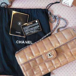 Chanel Bag 漆皮 vintage 2way bag