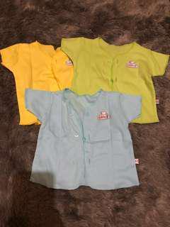 Baju bayi 3 warna