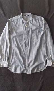 Uni qlo denim shirt
