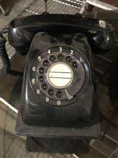🚚 50年代手撥電話機