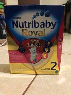 Nutribaby Royal 2 Soya