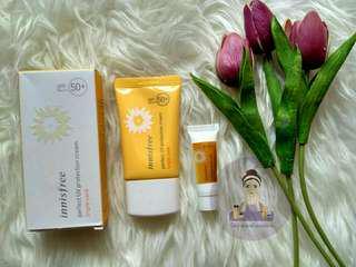 (Share) Innisfree perfect UV protection cream triple care SPF 50 PA+++