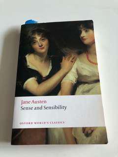 🚚 Sense and Sensibility - Jane Austen