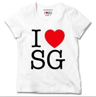 I love Singapore Tshirt from Giordano.