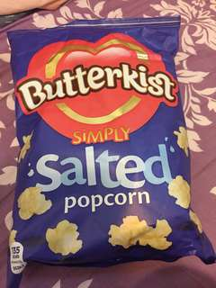 英國直送 Butterkist salted popcorn