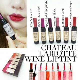 Lipcream labiotte wine