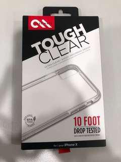 Case-mate tough clear iPhone X