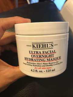 Kiehl's Ultra Facial Overnight hydrating masque mask 面膜