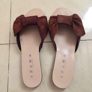 Zara Suede Sandal