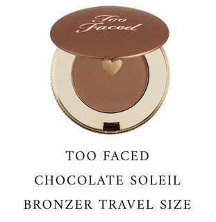 100% BRAND NEW ORI TOO FACED CHOCOLATE SOLEIL MATTE BRONZER TRAVEL SIZE