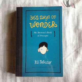 365 Days of Wonder by RJ Palacio