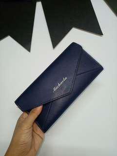 Michaela Navy Blue Wallet
